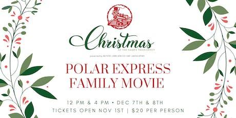 Polar Express Family Movie | Christmas at The Nampa Train Depot tickets