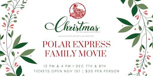 Polar Express Family Movie | Christmas at The Nampa Train Depot