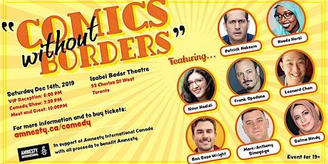 Comics without Borders/ Amnesty International Come tickets
