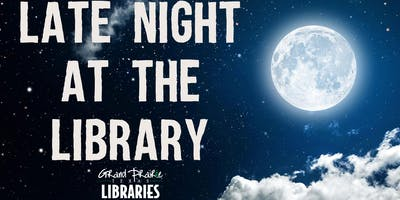 Late Night at the Library: Craft and Wine