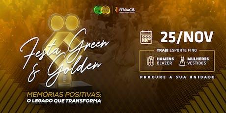 [RIBEIRÃO PRETO] Festa de Certificação Green e Golden Belt 2019 - 25/11 ingressos