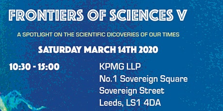 Frontiers of Sciences V  a science-in-society event exploring new concepts tickets