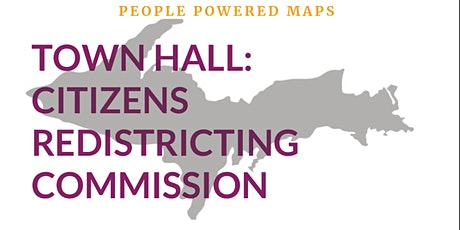 Town Hall: Citizens Redistricting Commission tickets