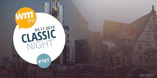 Webmontag Frankfurt #101 #Classic