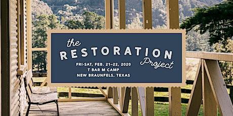 The Restoration Project with Marian Jordan Ellis tickets