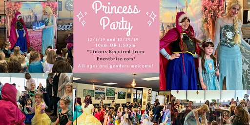 Princess Party at City Moose Café & Catering