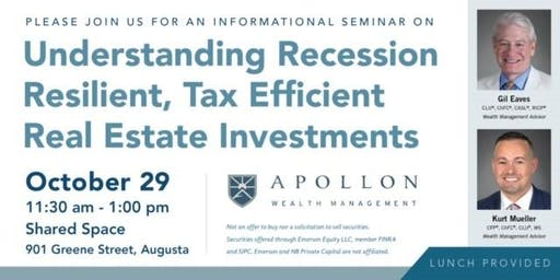 Recession Resilient & Tax Efficient Real Estate Investments