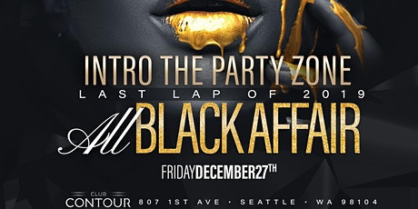 INTRO - ALL BLACK - End of Year Party tickets