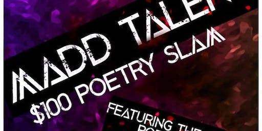 Anderson MADD Talent $100 Poetry Slam