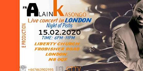 A NIGHT OF PISTIS  (#faith) tickets