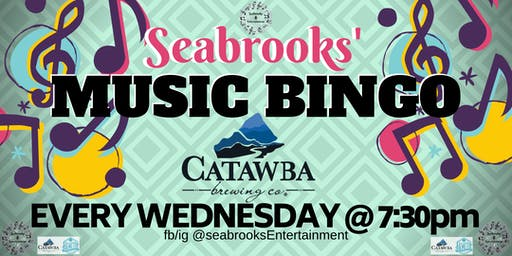 SEABROOKS' MUSIC BINGO!FUN MUSIC,GREAT PRIZES,BEST BEER,INCREDIBLE VIEW!!
