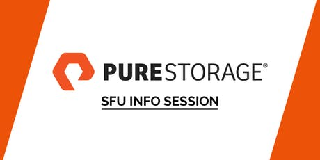 SFU Pure Storage Software Engineer Info Session tickets