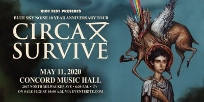 Circa Survive: Blue Sky Noise 10 Year Anniversary Tour.