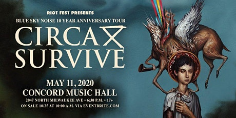 Circa Survive: Blue Sky Noise 10 Year Anniversary Tour. tickets