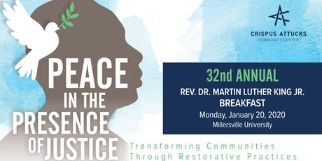 32nd Annual Rev. Dr. Martin Luther King Jr. Breakfast tickets