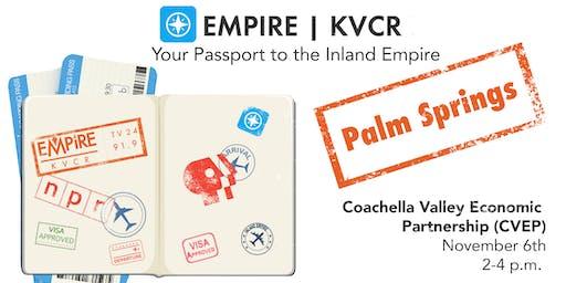 Empire | KVCR Community Forum Palm Springs