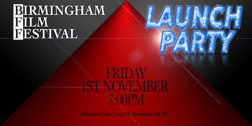 BIRMINGHAM FILM FESTIVAL - LAUNCH PARTY