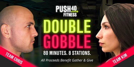 Double Gobble 2019 - Group Fitness Fundraiser