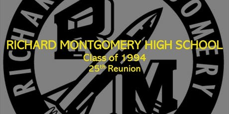 Richard Montgomery High School Class of '94 25th Reunion Party tickets