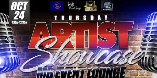 Artist Showcase @ MB Event Lounge