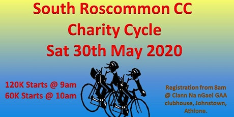 South Roscommon CC Charity Cycle 2020 tickets