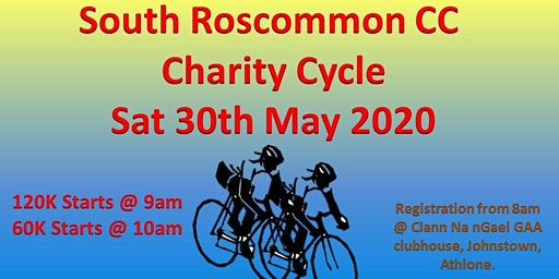South Roscommon CC Charity Cycle 2020