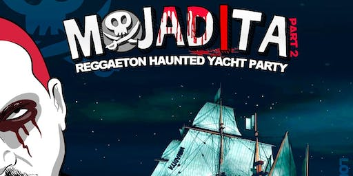 Mojadita Haunted Reggaeton Yacht Party 2019