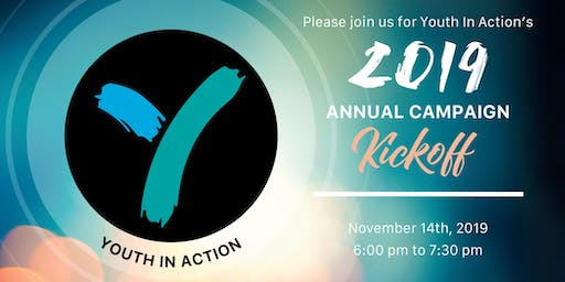Youth In Action's Annual Campaign Kick Off 2019