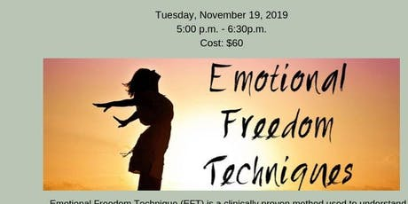 Emotional Freedom Technique Workshop tickets