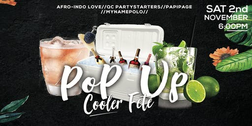POP UP Cooler Party