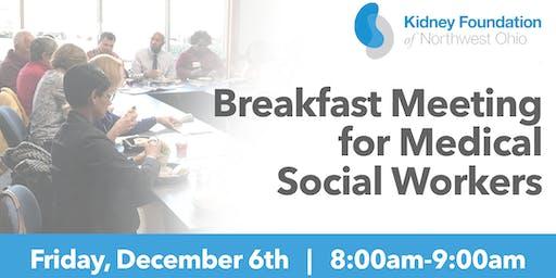 Breakfast Meeting for Medical Social Workers