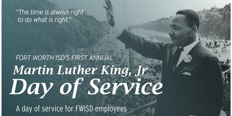 Fort Worth Independent School District - M.L.K. Day of Service tickets