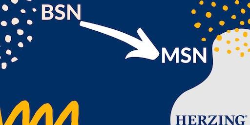 BSN to MSN Meet and Eat