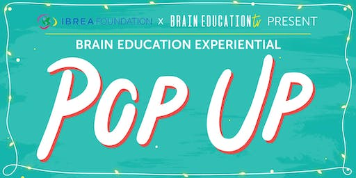 Brain Education Experiential POP UP by IBREA Foundation x BETV