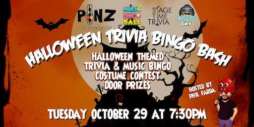 PiNZ Halloween Trivia & Bingo Bash