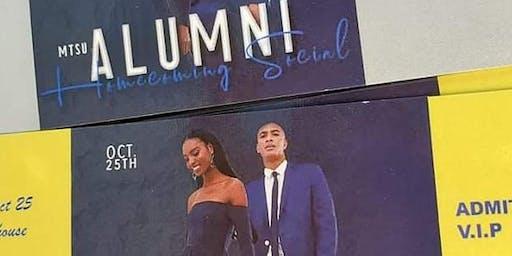 True Blue Alumni Social MTSU Homecoming