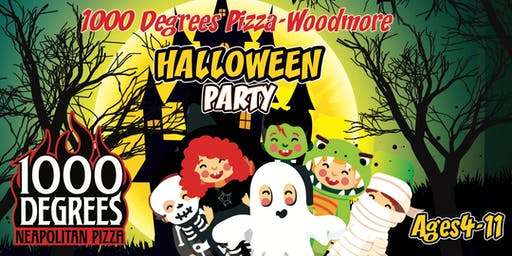 1000 Degrees-Woodmore Halloween Party!