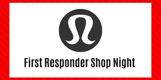lululemon Tsawwassen Mills - First Responder Shop Night