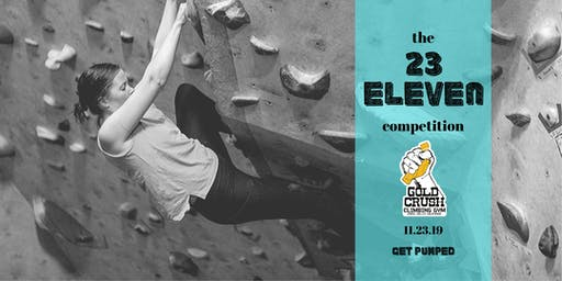 23 Eleven Bouldering Competition