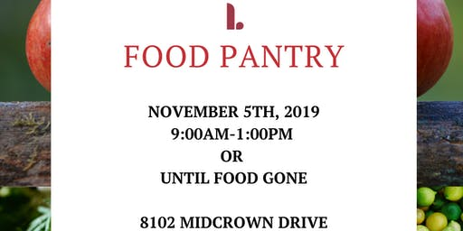 Food Pantry (OPEN TO COMMUNITY)