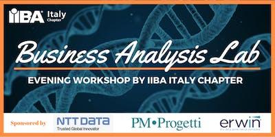 IIBA Italy Business Analysis Lab Series - Roma