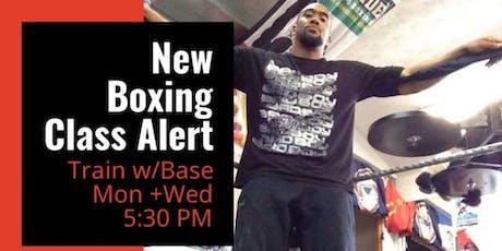 Mondays + Wednesdays Boxing w/ Base at Ignite Good Health tickets