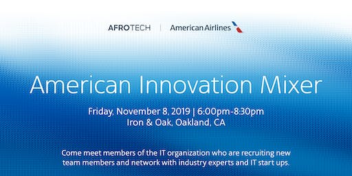 American Innovation Mixer at AfroTech