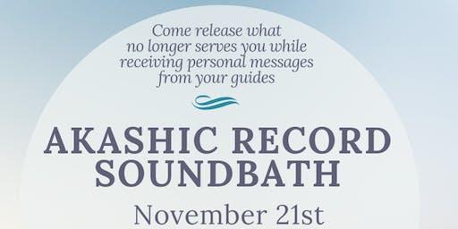 Akashic Record Sound Bath