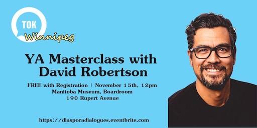 YA Writing Masterclass with David Robertson