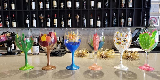 Paint your Wine Glass at Peacock Wine Bar