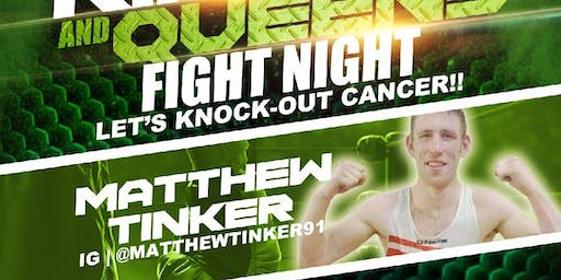 Matt Tinker Live Pro Boxing Event! #KnockOutCancer