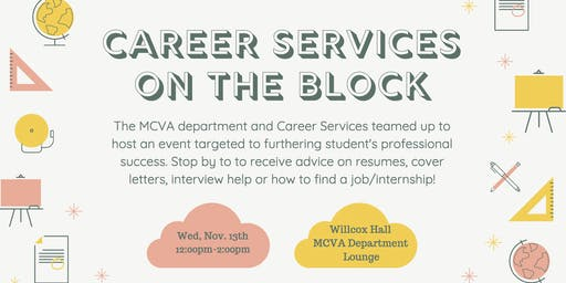 Career Service On The Block