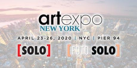 Artexpo New York | [SOLO] | [FOTO SOLO] 2020 tickets