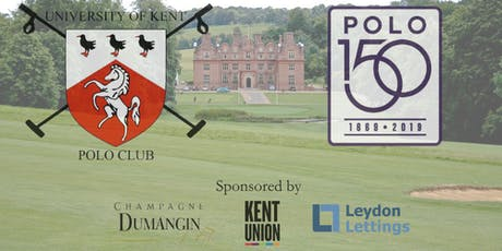The University of Kent Polo Club Hosts The Polo 150 Charity Gala Dinner tickets